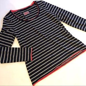 Boden striped long sleeve top